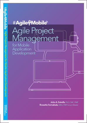 Book cover design and branding for Agilitek's Agile4Mobile.