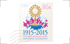 Holy Spirit Adoration Sisters Centennial Stamp Design Proposal